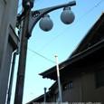 昭和レトロなモダンな街灯