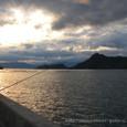 夕まずめの瀬戸内海
