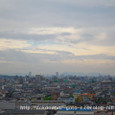 2009年原爆の日の広島市上空