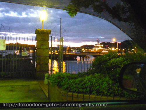 呉市アレイからすこじま_車内から見た風景